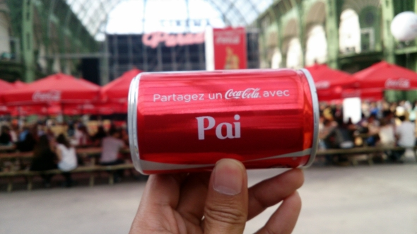 Personalize your Coke