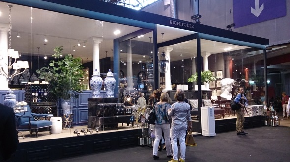 EICHHOLTZ is one of the biggest booth in Maison and Objet
