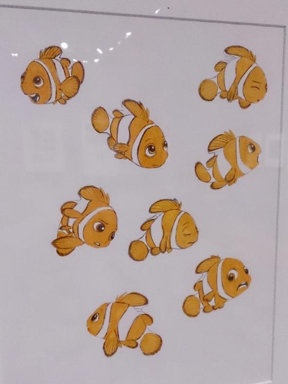 Nemo's facial expressions