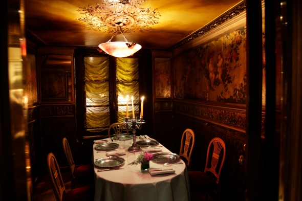 Private Room (extra 35 euros per person) and 2 weeks reservation in advance! Photo© Lapérouse